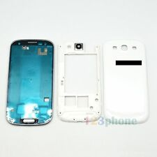 FRAME + CHASSIS + COVER FULL HOUSING FOR SAMSUNG GALAXY S3 i9300 #H360W_FULL