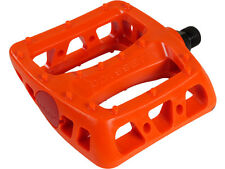 """ODYSSEY PC PEDALS - BMX PEDALS - 9/16"""" - FIRE RED - FRED"""