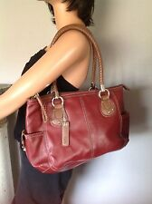 Relic Bag Ourse Burgundy  Brown Designer Fashion Chic Stylish Woman