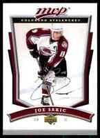 2007-08 Upper Deck MVP Joe Sakic #1