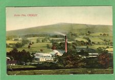 Eccles Pike Chinley Nr Chapel en le Frith pc used 1908 Marsden Ref K240