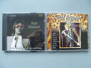 Rod Stewart 'Orange Collection 2CD' 'Live' 2xCD Nr Mint