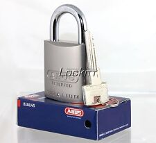 ABUS 83AL45 Silver padlock 888 Restricted Cylinder Keyed Alike