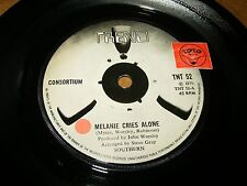 CONSORTIUM - MELANIE CRIES ALONE - COPPER COLOURED YEARS   / LISTEN - POP