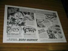 1955 Print Ad Borg-Warner Ripley's Believe It or Not Sitting Bull's Buzz Saw