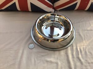 Rosewood Pet Dog Water Food Bowl Medium Size Stainless Steel Brand New