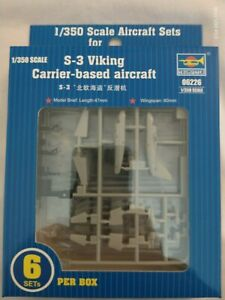 Trumpeter 1/350 scale S-3 Viking Kit No: 06226