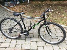 Raleigh M50 mens medium bike mans black hybrid road mountain bicycle