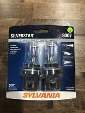 SILVERSTAR SYLVANIA 9007 HEADLIGHT BULB SET OF 2 SECURITY SENSOR 12.8V 55W/65W