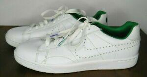 NIKE W TENNIS Classic Ultra Wimbledon white green purple colorway men's size 11