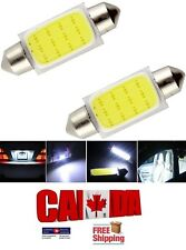 2Pcs Festoon 31mm DC 12V COB C5W LED Car Light Dome Reading Map Roof Light Bulb