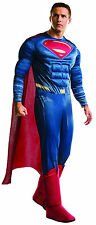 Deluxe Superman Adult Costume Batman v Superman Dawn of Justice Size Standard