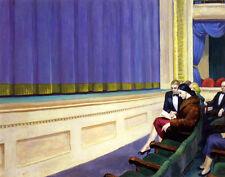 Hopper Edward First Row Orchestra Canvas 16 x 20  #4700