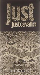 Roberto Cavalli Just Cavalli Gold for Him  Eau De Parfum Spray 30 ml
