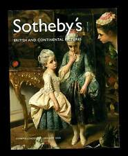 BRITISH & CONTINENTAL PICTURES Catalogo Asta London Sotheby's  2004