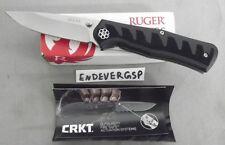 RUGER KNIFE BY CRKT R1205 STEIGERWALT COMPACT CRACK-SHOT THUMB TRIGGER ASSIST