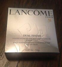LANCOME DUAL FINISH POWDER  & FOUNDATION 320 AMANDE III NEW IN BOX FULL SIZE
