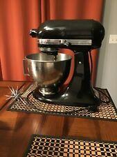 Kitchen Aid 4.5 Quart Onyx Black KSM900B Tilt Head Mixer