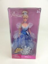 Enchanted Princess Cinderella Doll w Crown for You Sealed Disney store Exclusive