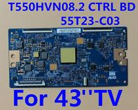 Original T-con Board T550HVN08.2 CTRL BD 55T23-C03 For TV 43''