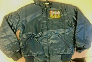AJ Foyt Racing Garage Sale VINTAGE AJ Foyt Coyote Puffy Jacket - Size Small only