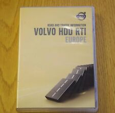 GENUINE VOLVO RTI HDD SAT NAV NAVIGATION DISC DVD 4 SET UK EUROPE 2013 MAPS