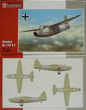 Heinkel He 178 V-2 , größere Spannweite und Triebwerk, Special Hobby,1:72, NEU!