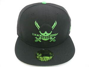 NEW ERA 59FIFTY ONE PIECE  ZORO 59FIFTY FITTED CAP black/green