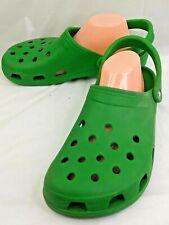 CROCS Original Classic Green Clogs mens 12 Back Strap waterproof 2863