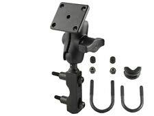 RAM-B-178U-A RAM Motorcycle Clutch Mount w/ Short Arm and Adapter f/ Garmin Zumo