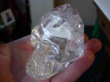 Crystal skull water clear crystal type LJ1