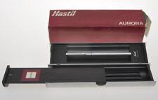 Aurora Hastil ecosteel steel fountain pen mint in box minimalist beauty