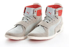 PUMA FERRARI Shoes 12 in Cement Gray Valorosso Mid SF Webcage Driving Sneaker