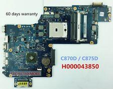 H000043850 AMD Motherboard for Toshiba Satellite L870D L875D C870D C875D Laptops