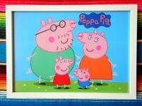 "TY PEPPA PIG GEORGE KEYRING //BAGCLIP  4/"" 46132"