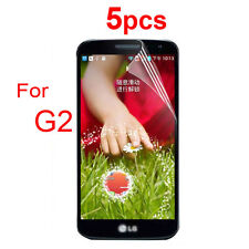 5X Ultra High Clear  Screen Protector Protective Film For LG G2 D802 D803