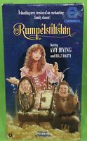 RUMPLESTILTSKIN VHS 1987 Amy Irving Billy Batty Family Fantasy OOP