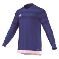 Adidas Football Soccer Mens Goalkeeper GK Goalie Long Sleeve Jersey Shirt Top