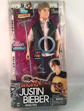 """Justin Bieber 12"""" Doll Singing Boyfriend Celebrity Toy Collection Figure"""