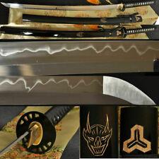 Battle Ready Kill Bill Japanese Sword Clay Tempered Full Tang Blade KATANA Sharp
