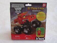 K'nex Lego Monster Jam El Toro Loco Building Set 40 Pieces