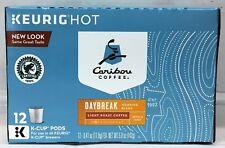 Caribou Coffee Daybreak Light Roast Coffee Keurig K Cup Cups 12 ct