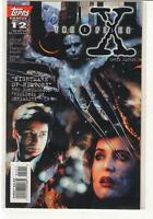 The X-Files #12 Mulder Scully Topps Comics 9.6