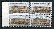 Berlin 740 ** + o - 300 Jahre Berliner Börse - Paare