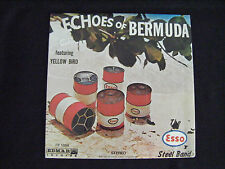 Esso Steel Drum Band Echoes of Bermuda LP Record Edmar - Original Shrink - NM