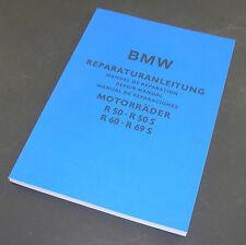 Istruzioni di riparazione BMW R 50 a R 69 S-tedesco/inglese/spagnolo/francese