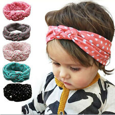 1 Pc Baby Girls Kawaii Toddler Turban Knotted Headband Hair Band Kid Accessories