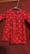 Carter's Baby Girls 2 Piece Polka Dot Dress Size 18 months - NWT FREE SHIPPING