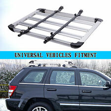 Universal  Affordable  Car Roof Cargo Carrier Luggage Basket Rack Top Crossbars