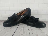 Mens Cole Haan Italian Leather Tassle Loafers size 10.5 UK.